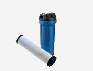 Residential carbon filter w cartridge